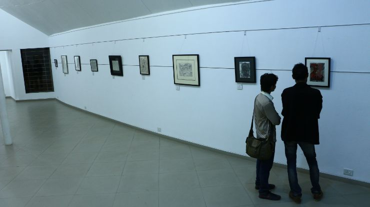 F. N. Souza - Works on Paper - Review of Art Exhibition