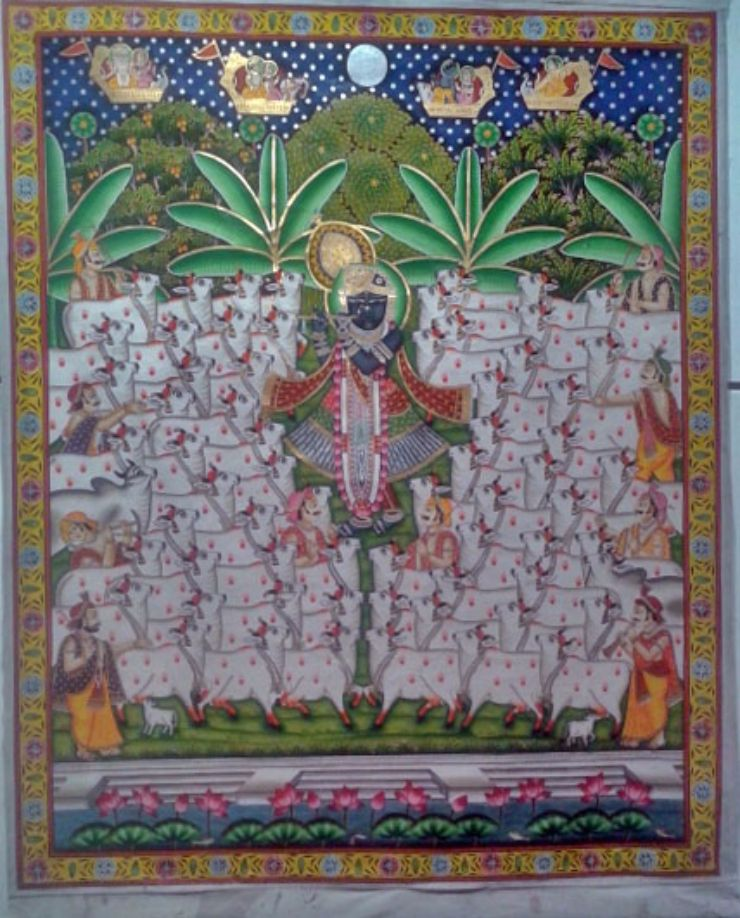 Shri Nathji, Pichwai