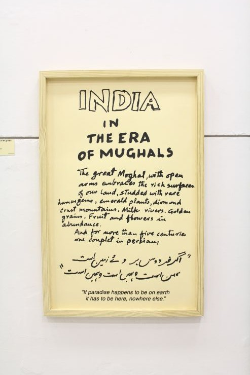 india In the Era of Mughals, M F Husain