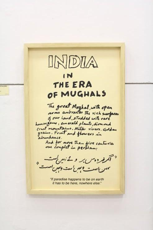 india In the Era of Mughals, M F Husain