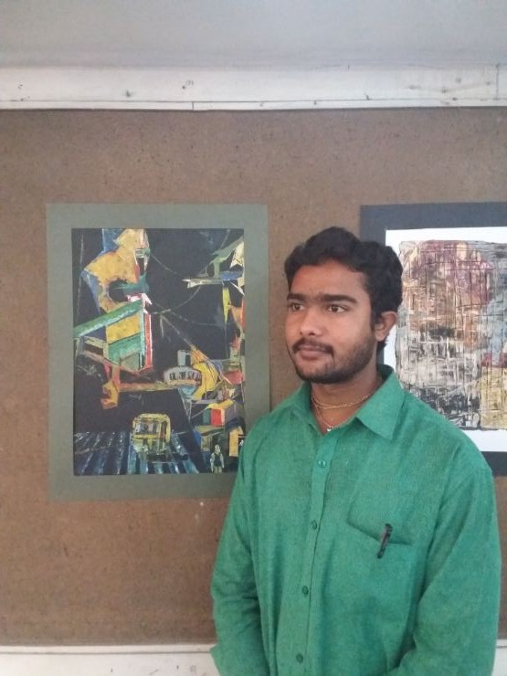 Nimay Saparay Winner Kala Ravi Trust Painting Competition