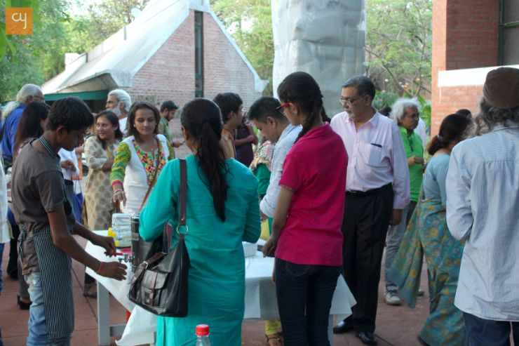 Arts and Artists at Kanoria centre for arts, Ahmedabad