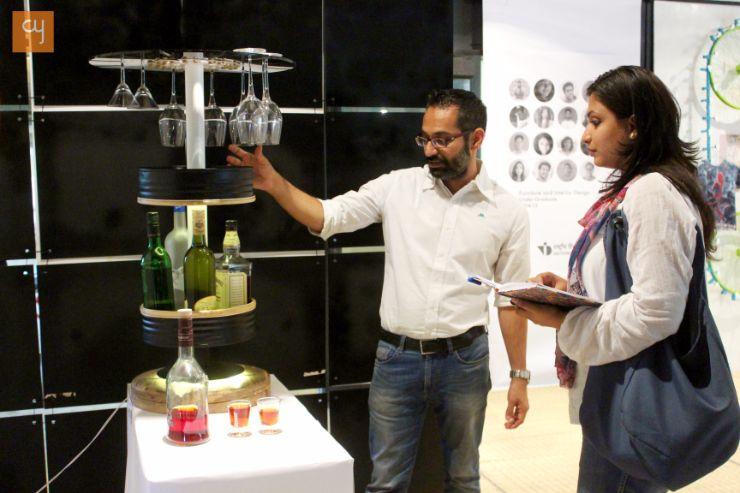 Pravinsinh Solanki, Scrap Design Innovation - at NID, National institute of design, Ahmedabad