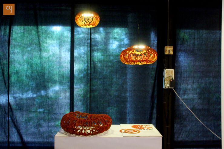Scrap Design lights Innovation - at NID, National institute of design, Ahmedabad
