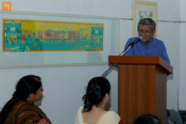 Shri Amit Ambalal, art and artists, lecture series