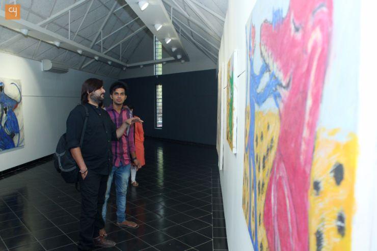 Amit Ambalal, Monkeys of blue god, The Gallery