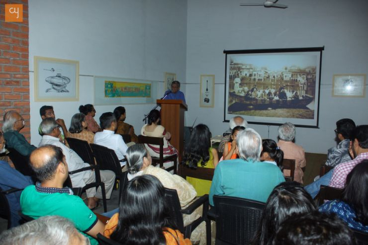 Shri Amit Ambalal, Lecture on his artwork and inspiration.