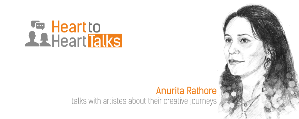 Anurita Rathore ,Heart to Heart Talks, talks, talk, artists, sketch, draw, portrait, Talk with Anurita Rathore