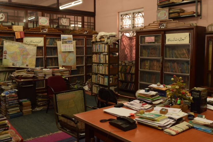 Hazrat Pir Mohammad Shah Library, Library, internal view, interior of library, Books, Urdu and Arabic Manuscript
