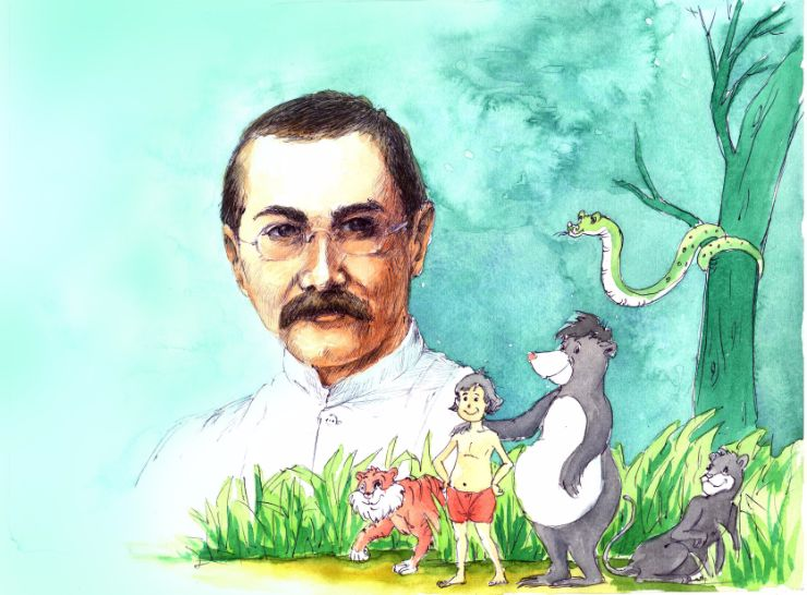 Jungle Book, rudyard kipling, The Jungle Book