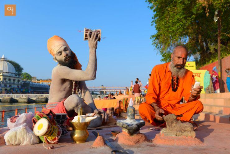 Kumbh mela, Simhastha Kumbh, ujjain, naga sadhu, sadhu, shiva lingam, shiva worship, shiva with nandi, dhuni