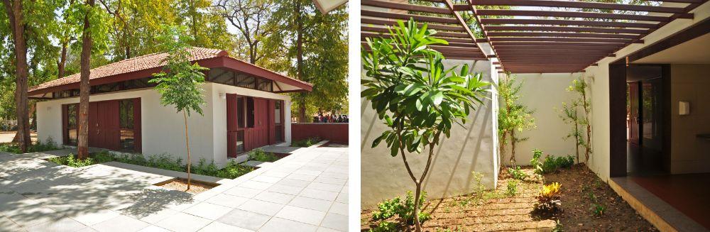 Sabarmati Ashram, Architecture, Shop in Ashram, Toilet in Sabarmati Ashram