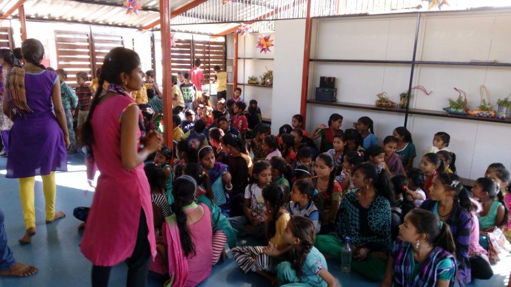 Inside the Manav Seva School