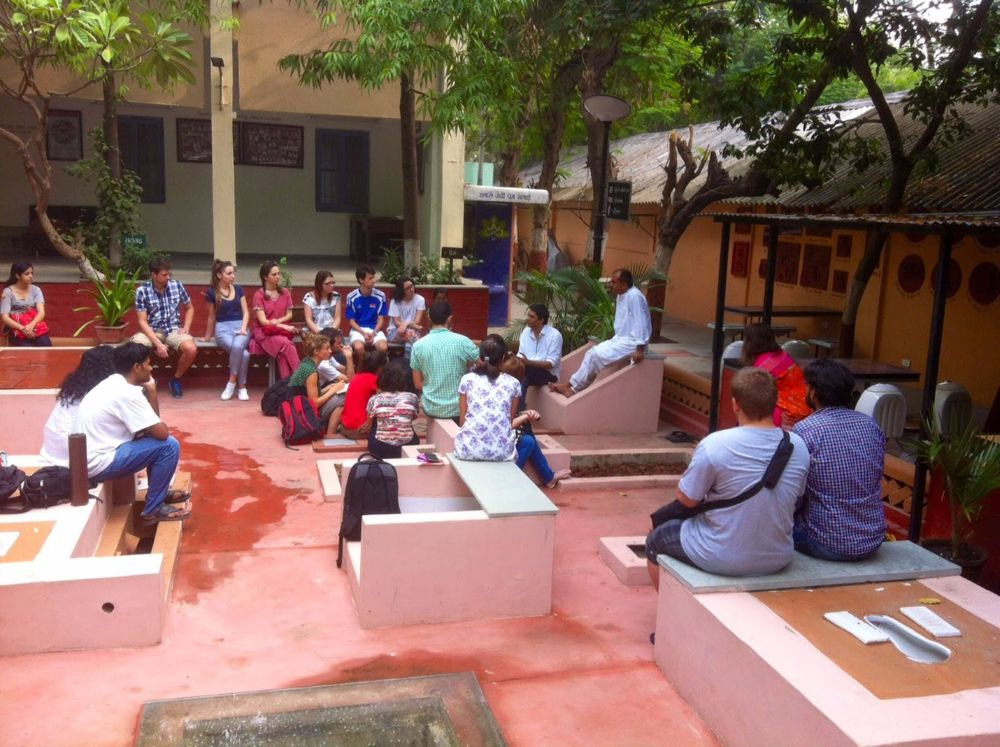 Safai Vidyalay's Toilet Garden and Café, Sabarmati Ashram