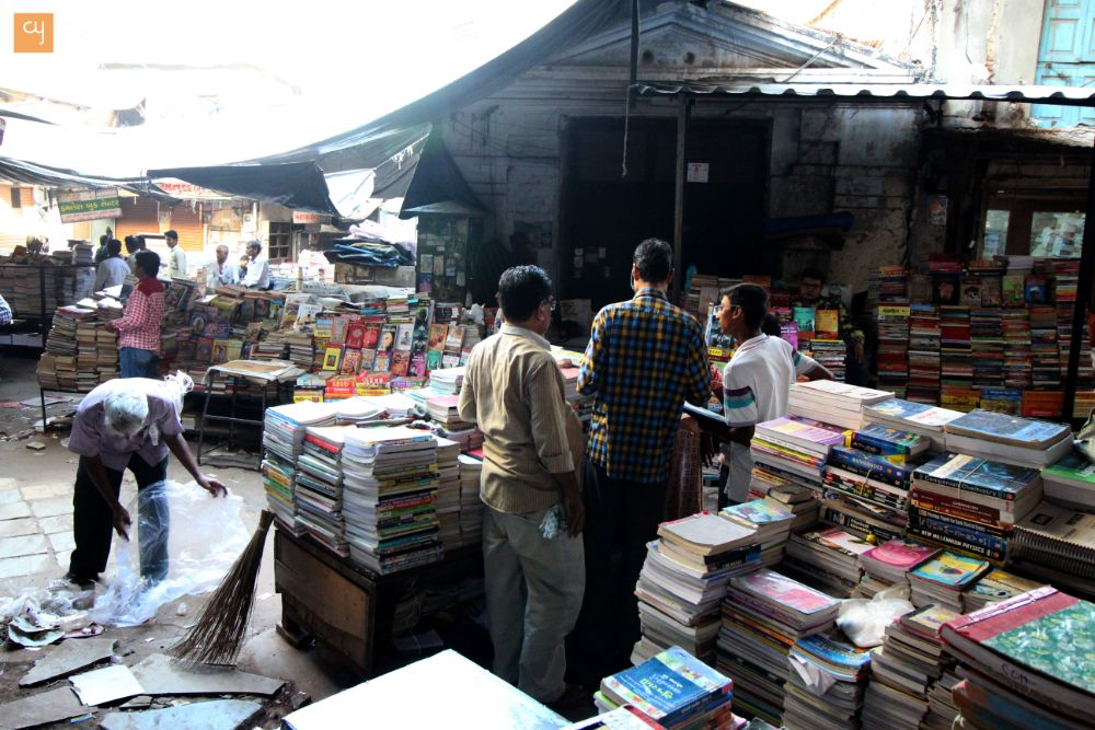 Second Hand Book Shops in Gandhi Road, Ahmedabad