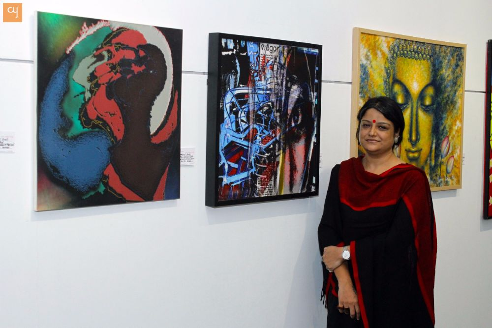 The Summer Strokes Exhibition at Herwitz Art Gallery, Amdavad Ni Gufa