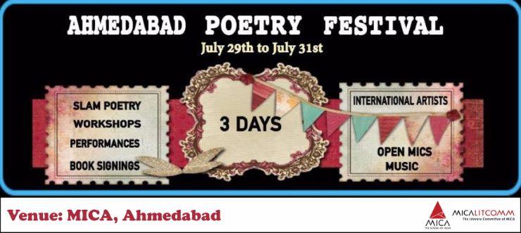 Ahmedabad Poetry Festival MICA Ahmedabad