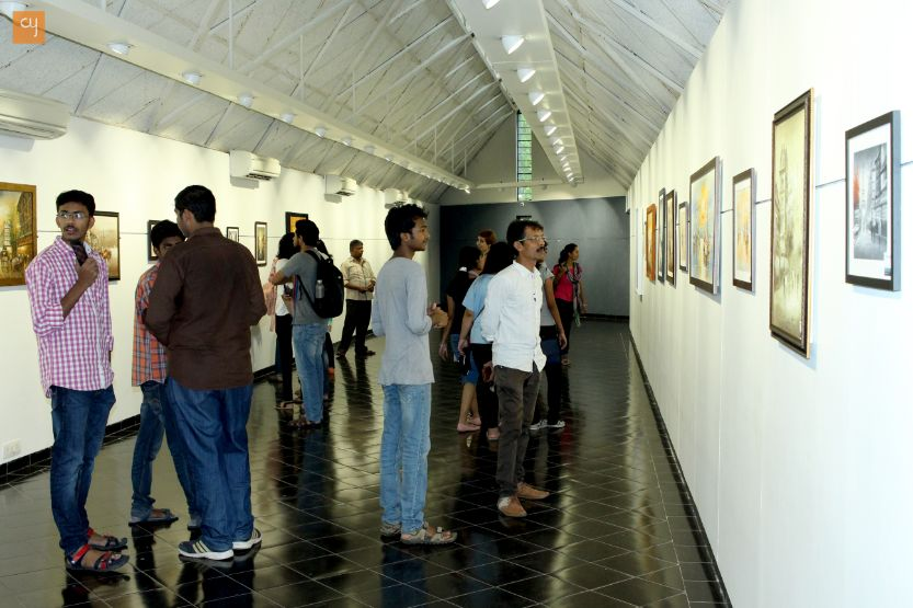 Sanaz Panahpour Darehshoun, Painting Exhibition in Ahmedabad