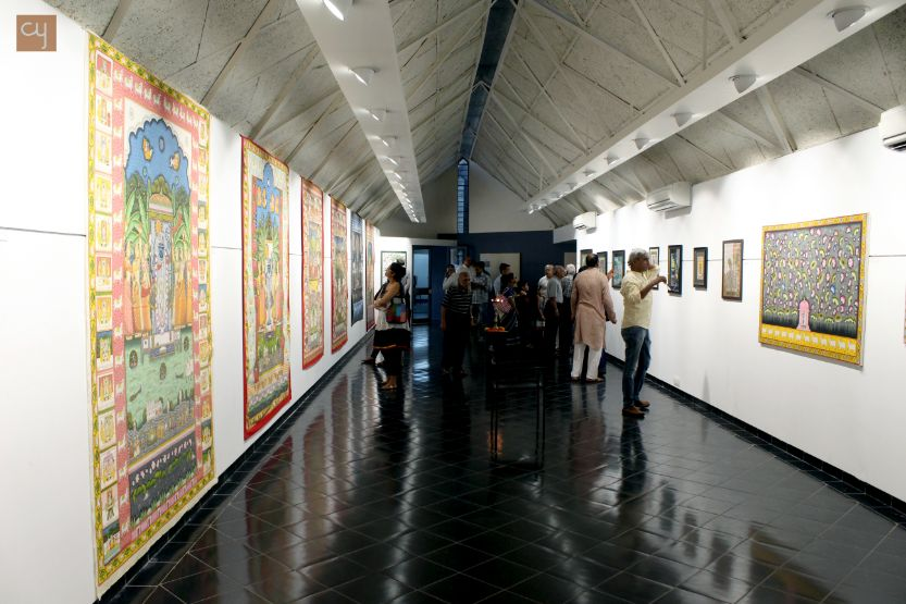 Darshan-Shrinathji, Pichawai Painting Exhibition, Amdavad ni Gufa