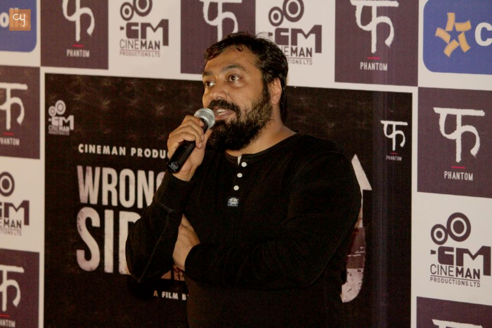 Wrong Side Raju Movie trailer launches by Anurag Kashyap