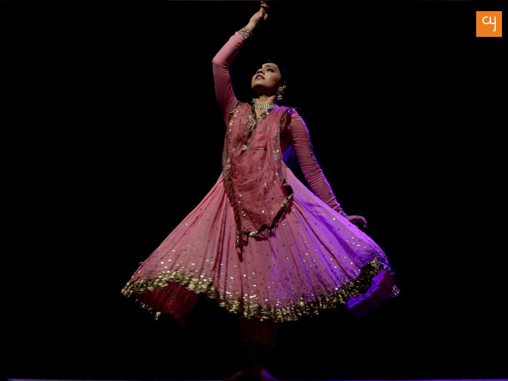 Kadamb, Kathak dancer performing