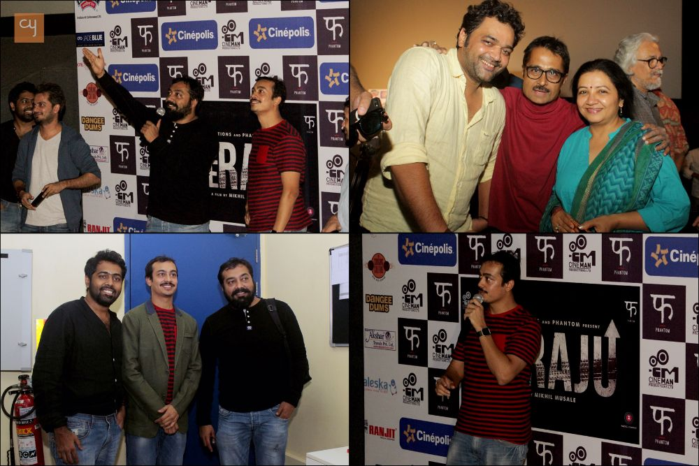 Anurag Kashyap launches trailer of 'Wrong Side Raju'
