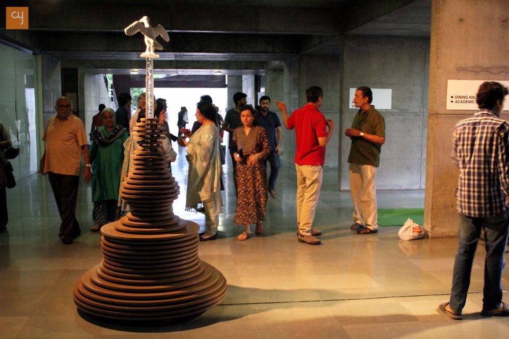 A dialogue between Easel and Chisel, IIM-Ahmedabad