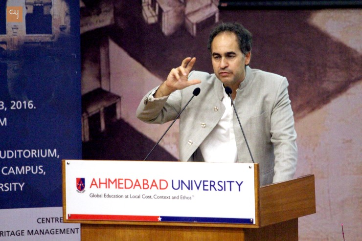 Ahmedabad University Centre for Heritage Management organized event of EU-funded project Cultural Heritage