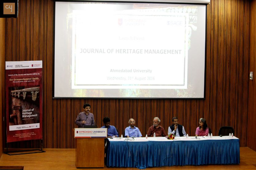 Centre for Heritage Management (CHM), Ahmedabad University(AU)