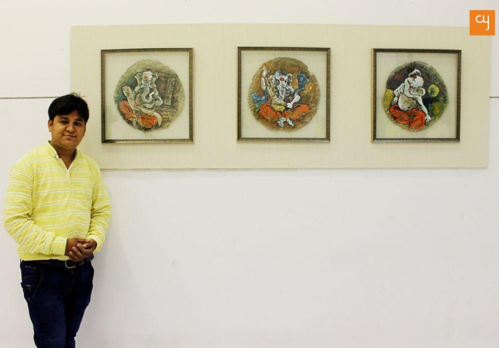 Ganesha Painting Nikesh Dabgar