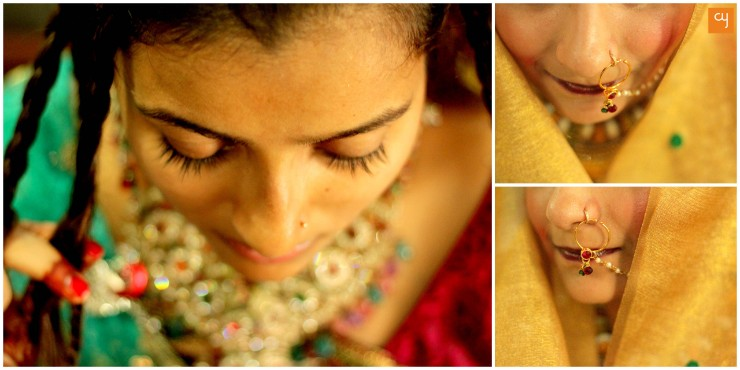 Blind People's Association Ahmedabad organised a 'Bridal Make Up' competition