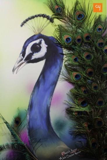 Manish Parmar's painting