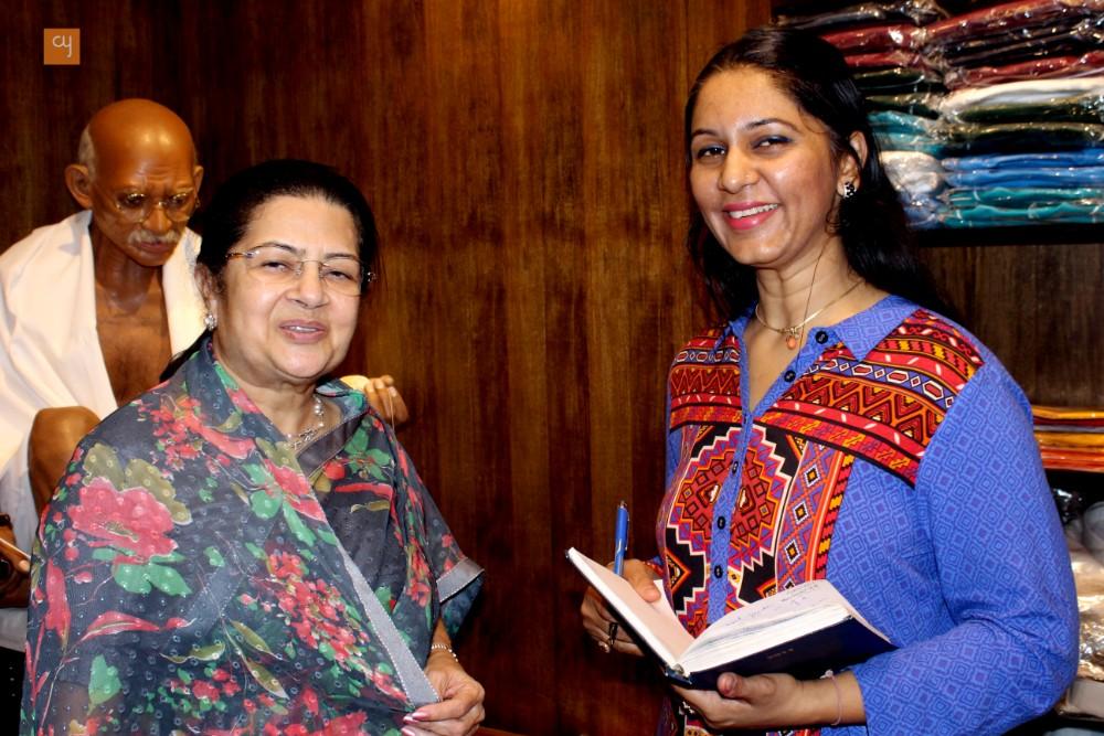 Rajashree Birla with Anurita Rathore