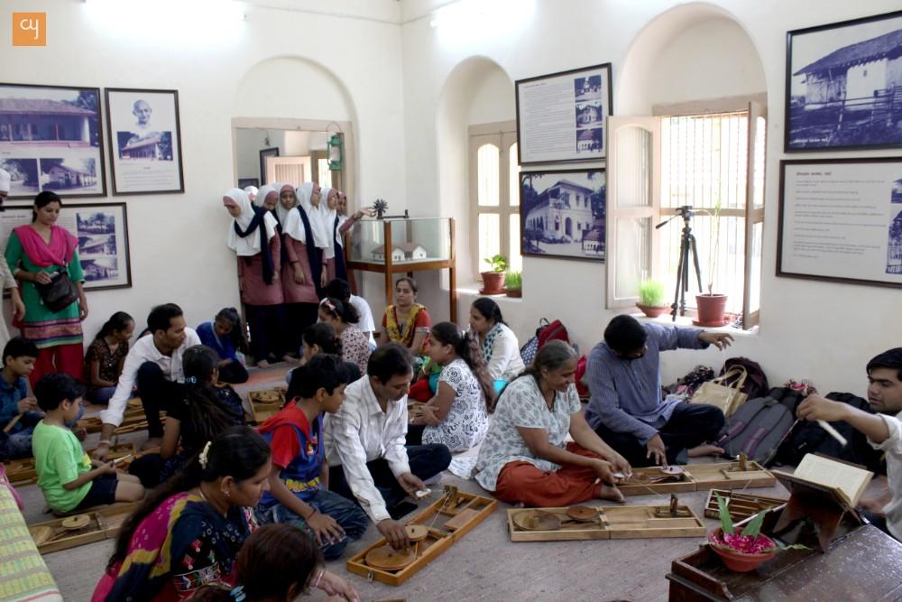 Gandhi Jayanti at Kochrab Ashram