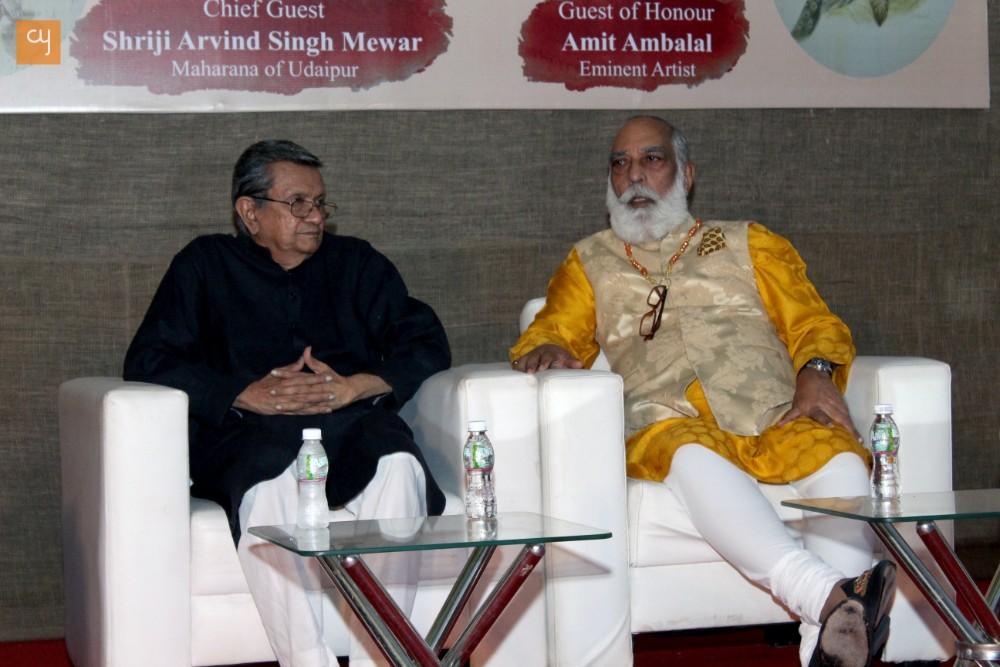 Shri Arving Singh Mewar in Ahmedabad