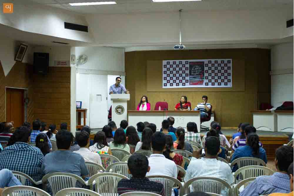 Ravinder Singh launches  'This Love That Feels Right' In Ahmedabad