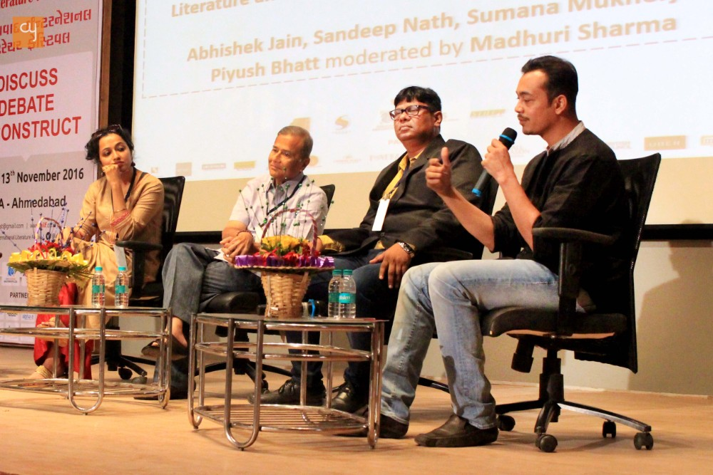 Ahmedabad International Literature Festival : Day 2