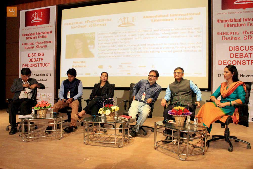 Ahmedabad International Literature Festival Day 1