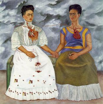 The two Fridas, Las dos Fridas