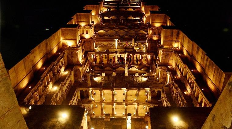 "Patan: A view of ""Rani ki Vav"" on World Heritage Week at Patan, Gujarat on Thursday. PTI Photo (PTI11_19_2015_000351A)"