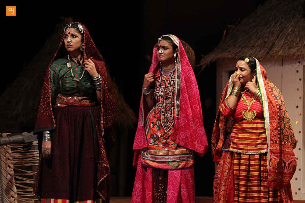 Dhaad Gujarati Play Review Devki