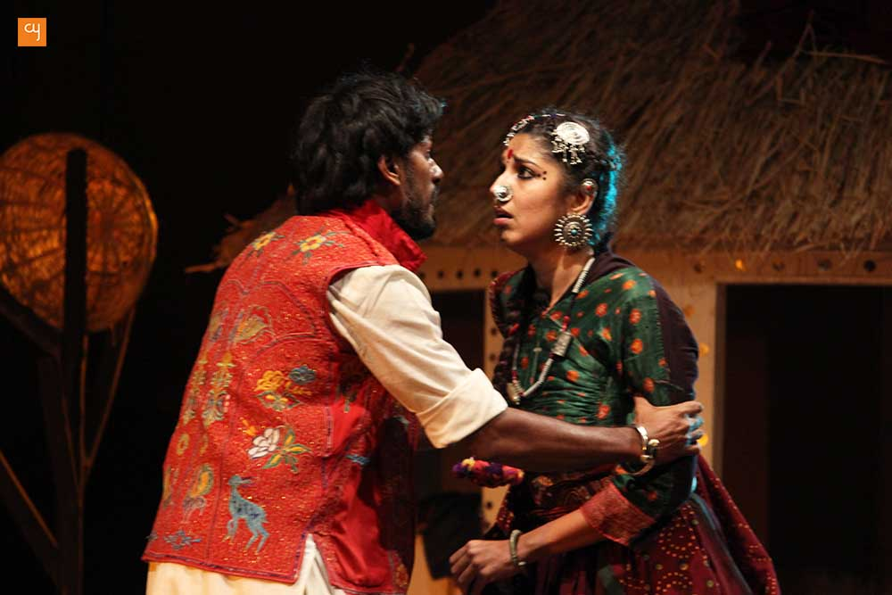Devaki and Gaurang Anand on Gujarati Play Dhaad