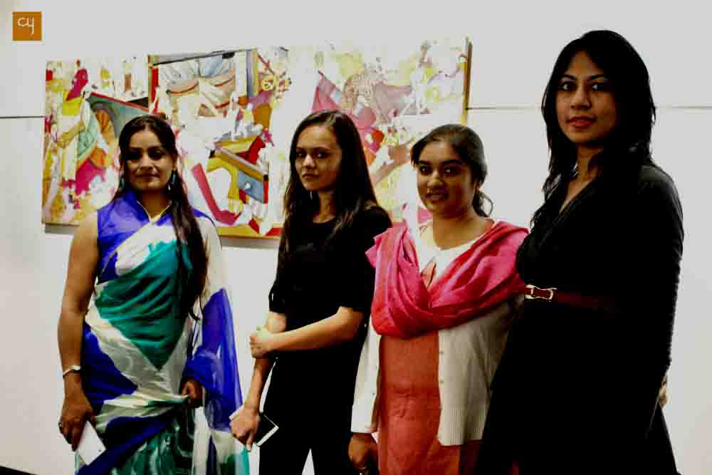 Saptadasha Shree Dal Women Artists Art Exhibition at Amdavad Ni Gufa Ahmedabad