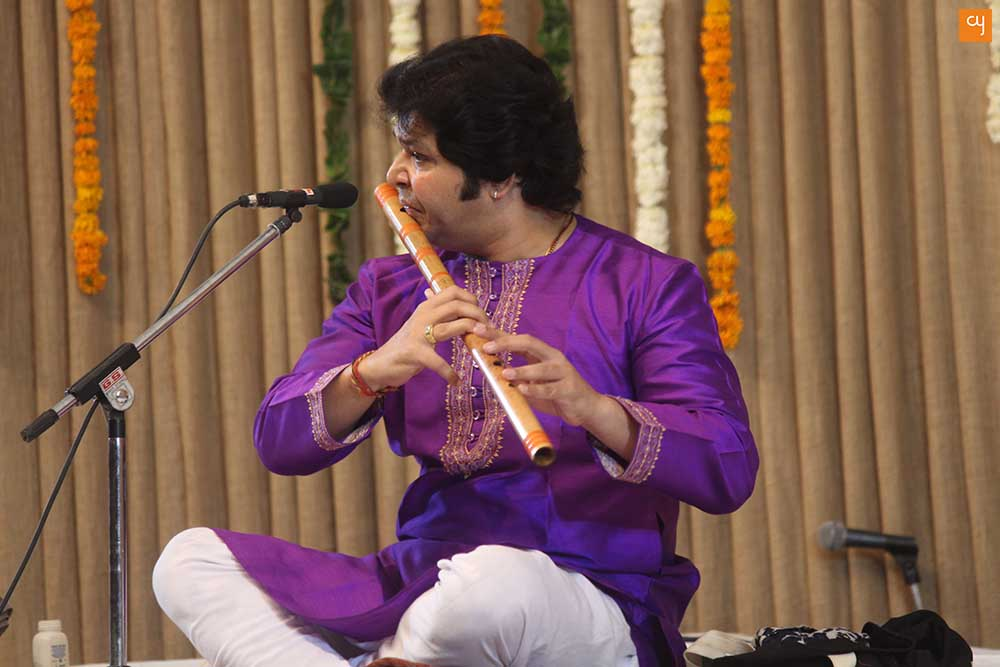Shri Rakesh Chaurasia at Saptak 2017