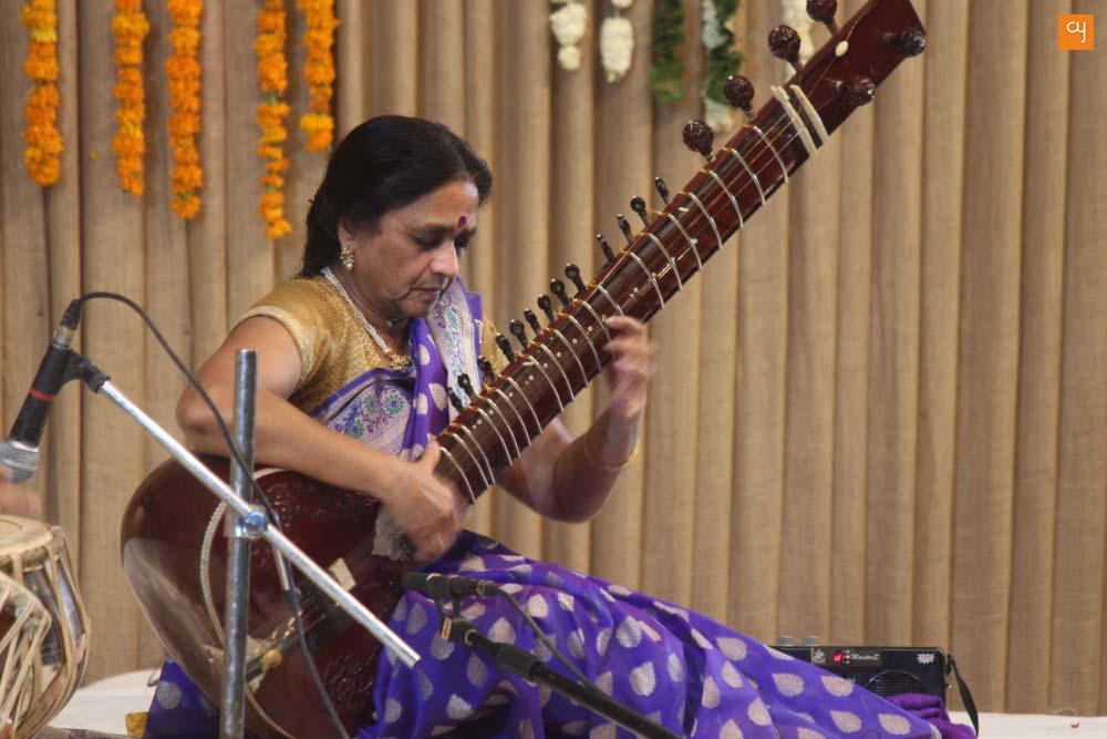 Manju Mehta at Saptak2017