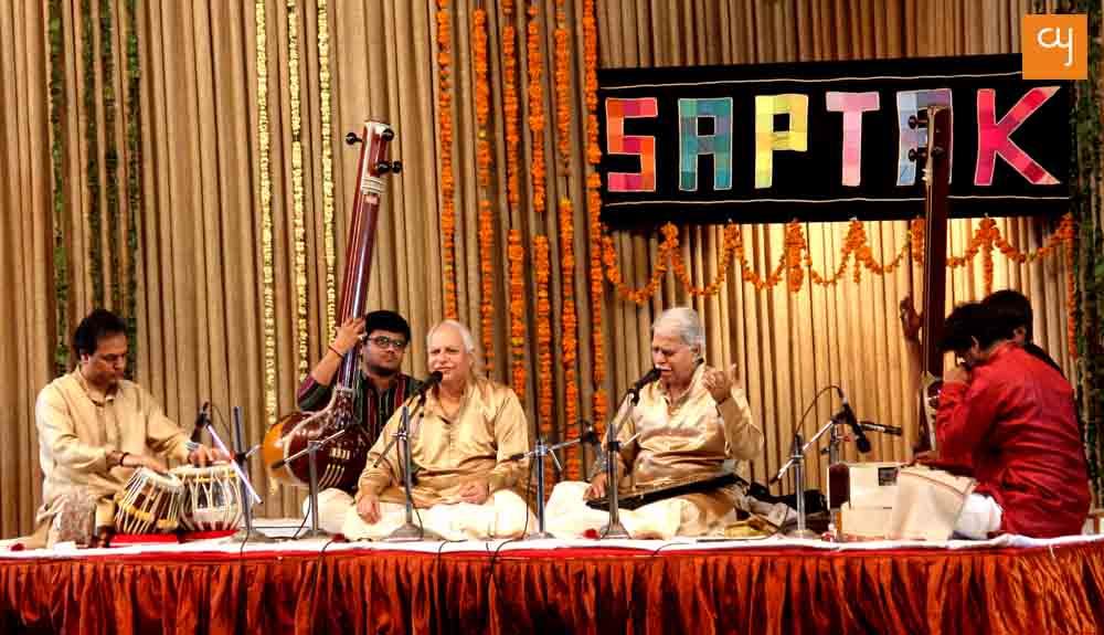 Pt. Rajan-Sajan Mishra at Saptak 2017