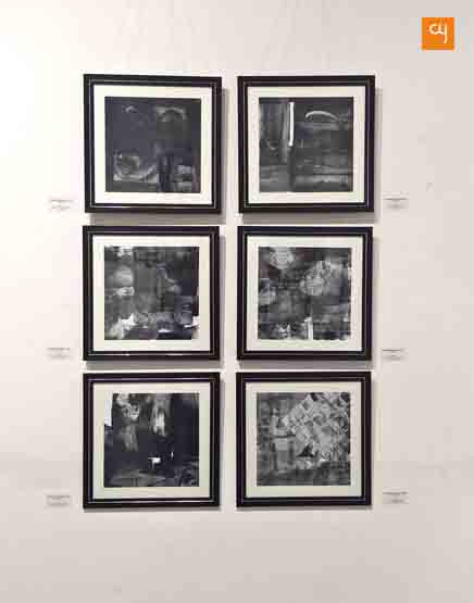 Works of Ravindra Vyas on display