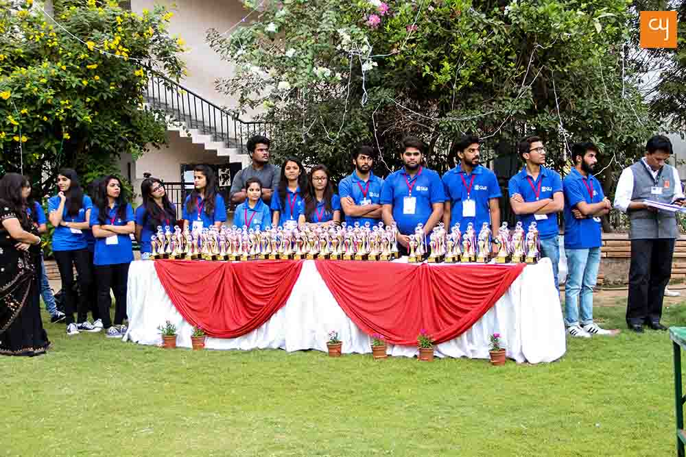 Asmita 2017, GLS University Ahmedabad, Price Distribution