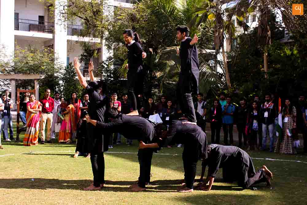 Asmita 2017, GLS University Ahmedabad , Students Performing art