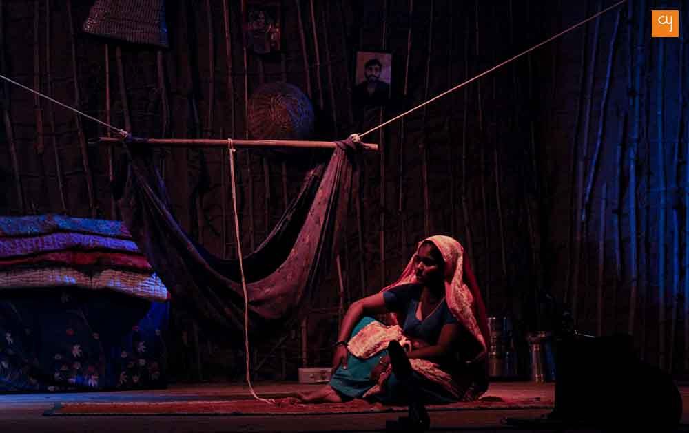 Ghodiya-no Vesh, adivasi woman, Trible woman Gujarat Samachar Trust and INT (Mumbai), Amateurs Focus on Social Issues